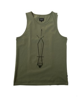 Tank Top Crude - zielony